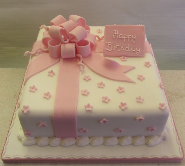 Birthday Cake Designs In Square : Teenager Cakes - Rathbones Bakery Upholland